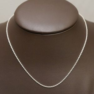 """Sterling Silver (.925) 18"""" Correna Link Chain"""